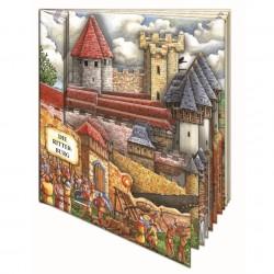 Die Ritterburg: Fensterpappenbuch zum Staunen und Lernen