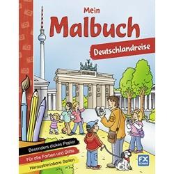 Mein Malbuch - Deutschlandreise