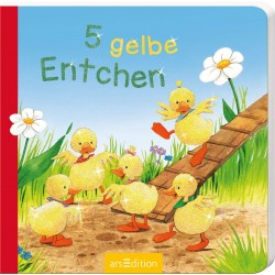 5 gelbe Entchen (5er Mini) (Deutsch) Pappbilderbuch