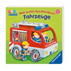 Mein erstes Gucklochbuch: Fahrzeuge (Deutsch) Pappbilderbuch