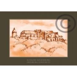 """Klappkarte """"Schloss Neuenburg"""""""